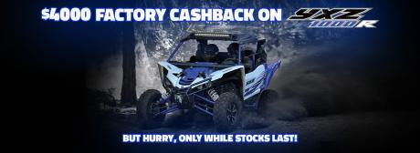 YXZ1000R - Factory Bonus